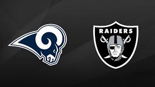 Rams vs Raiders NFL Preseason First Half Highlights | NFL Highlights