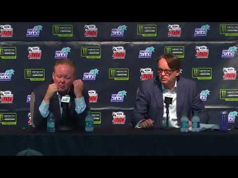2017 NASCAR Homestead Brian France and Brent Dewar Q&A
