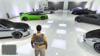 Grand Theft Auto V - My 4 Million Dollar Garage