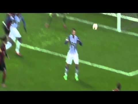 Eliaquim Mangala Goal | Eintracht Frankfurt vs FC Porto 2-1 (4-3) | Europa League HD