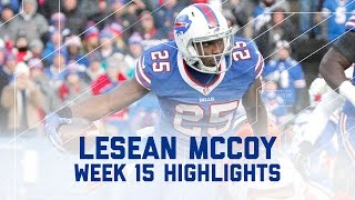 LeSean McCoy's 169-Yard, 2 TD Performance! | Browns vs. Bills | NFL Week 15 Player Highlights