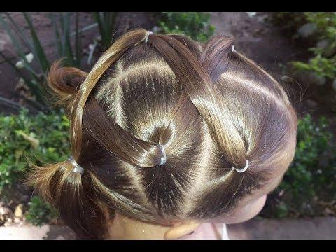 Peinado para ni a f cil youtube - Peinados de nina ...