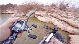Finesse Fishing The Deserts of Texas -- (Western Send Pt. 1)