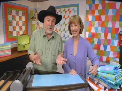 AccuQuilt Studio Fabric Cutter -- The World's Premier Fabric Cutter