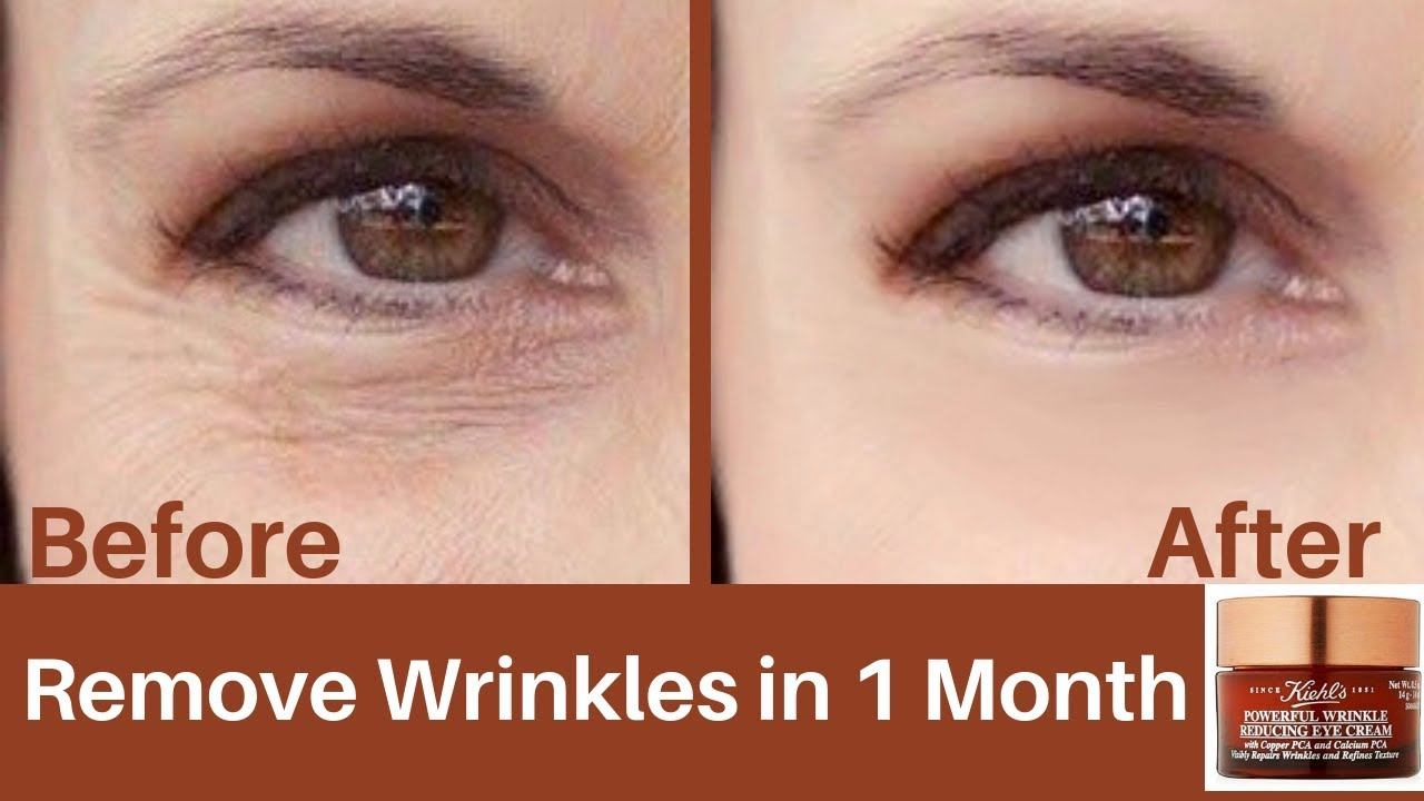 Kiehls Wrinkle Reducing Eye Cream Youtube