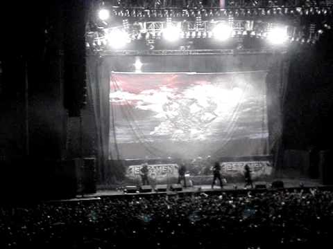 TESTAMENT EN MEXICO 2008. OVER THE WALL