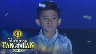 Tawag ng Tanghalan Kids: Jhon Clyd Talili wins for the 3rd time!