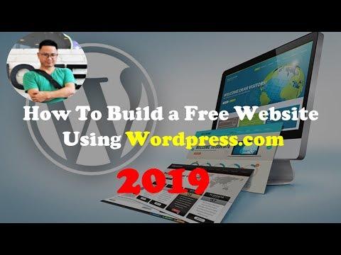How To Build a Free Website Using Wordpress.com