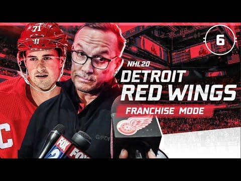 NHL 20: DETROIT RED WINGS FRANCHISE MODE - SEASON 6