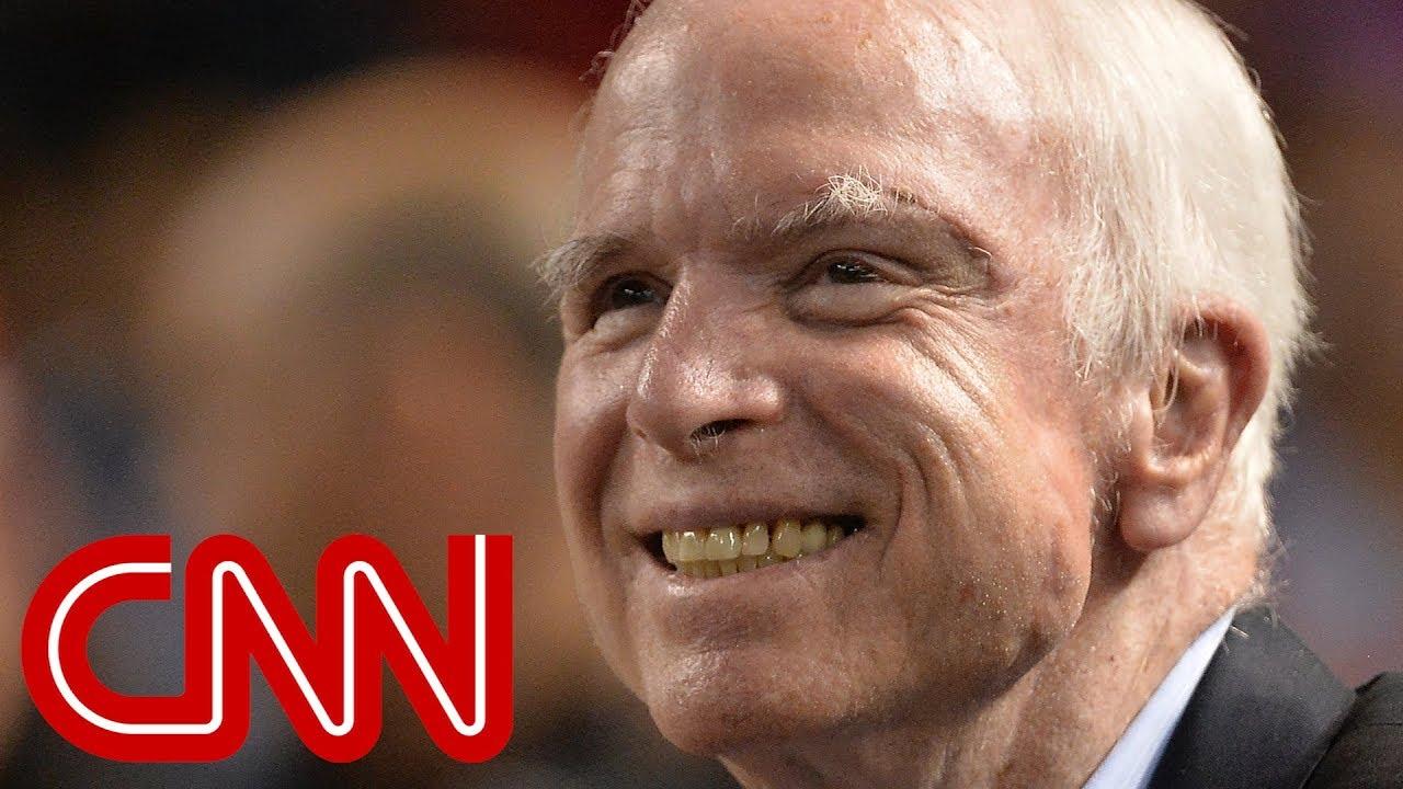 McCain's daughter, Trump, Obama react to McCain's death