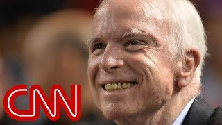 McCain's daughter, Trump, Obama react to McCain's death