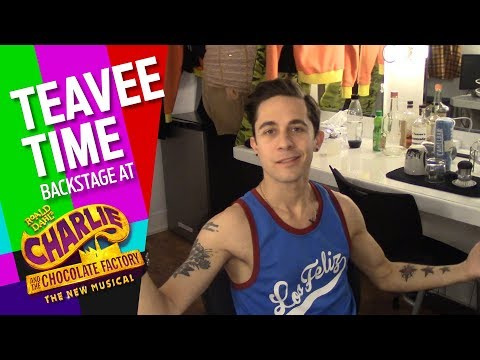 Download Youtube: Episode 8: Teavee Time: Backstage at CHARLIE AND THE CHOCOLATE FACTORY with Mike Wartella