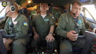 Скачать MEGA An 22 ULTIMATE COCKPIT MOVIE TWO FLIGHTS HUGE Outsized Cargo Mega Outsized Plane AirClips