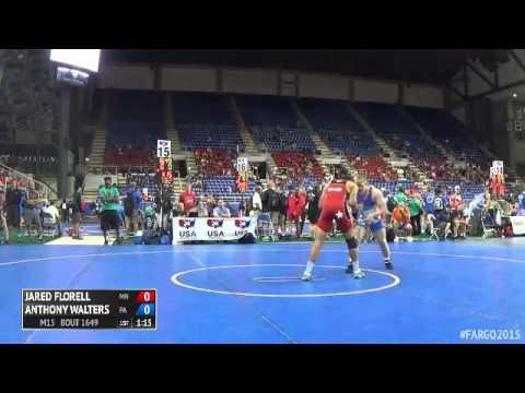 182 Semifinal  Anthony Walters Pennsylvania vs. Jared Florell Minnesota