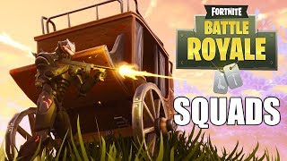 End of Season 4! - Squads with Subs - Fortnite Battle Royale Gameplay - Xbox One X