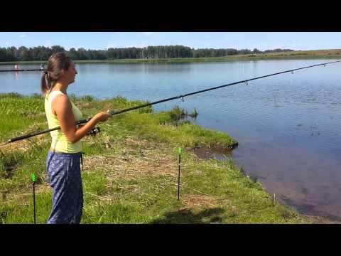 Рыбалка сразу  два карпа