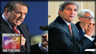 BOOM! Huckabee Drops the Hammer on John Kerry's CRIMES Against America - SEND HIM TO JAIL NOW!