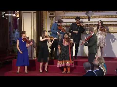 Performance at the Commonwealth - CHOGM inauguration at the Buckingham Palace, London