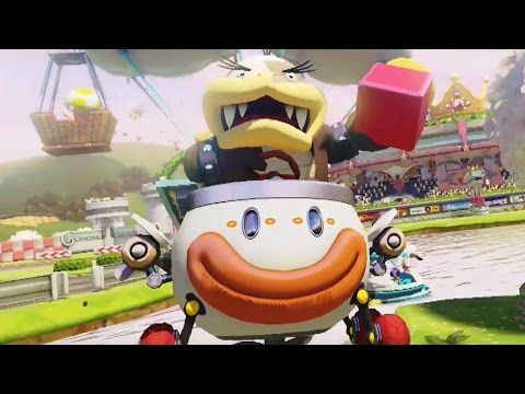 mario kart 8 deluxe 150cc banana cup grand prix morton gameplay youtube. Black Bedroom Furniture Sets. Home Design Ideas