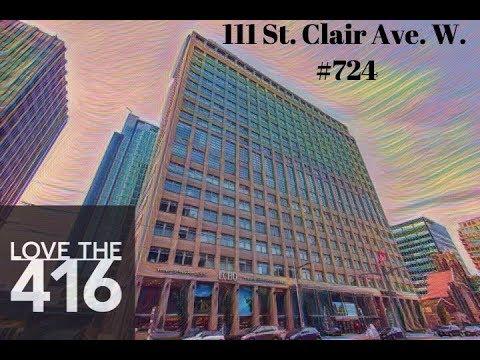 111 St Clair Avenue. West (The Imperial) Unit 724 Toronto