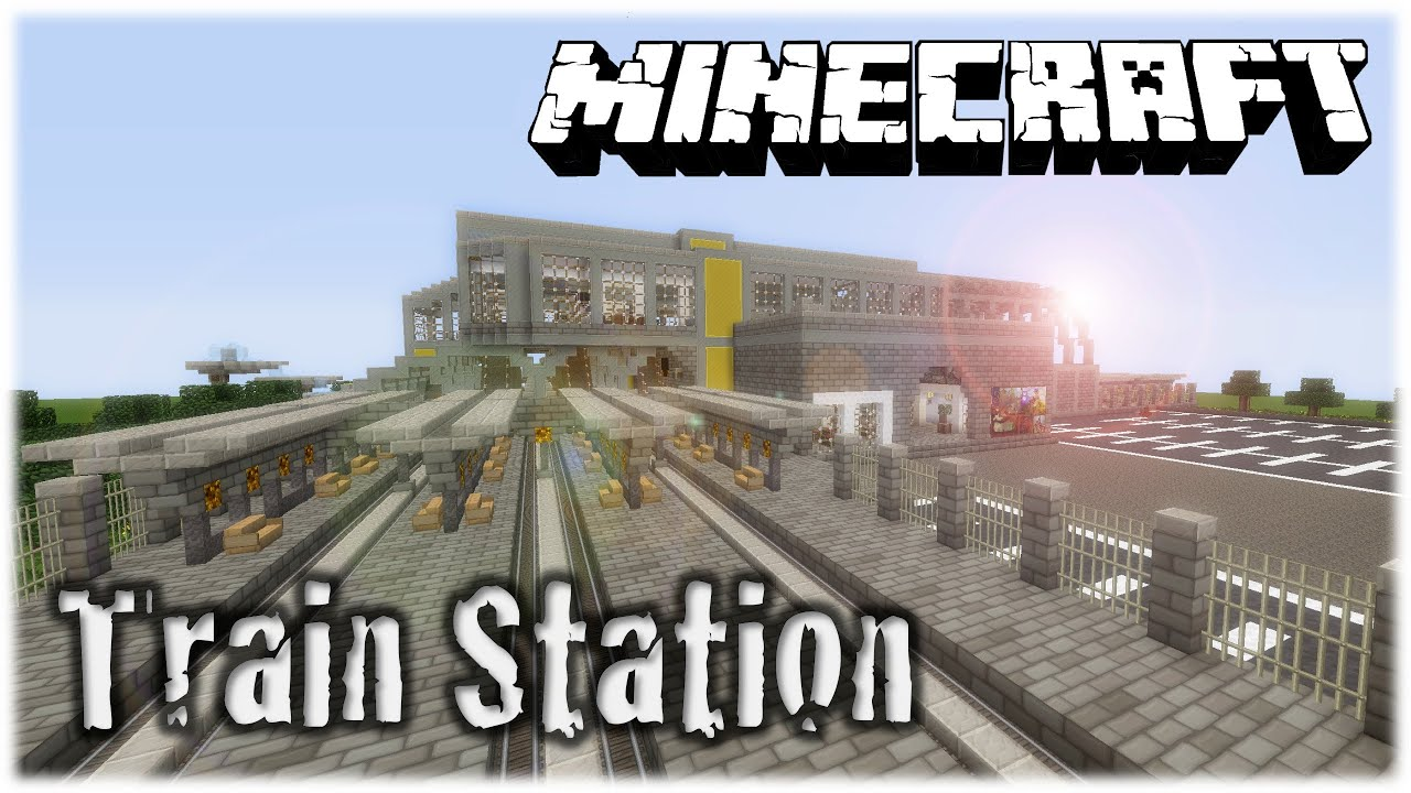 minecraft how to build a subway station