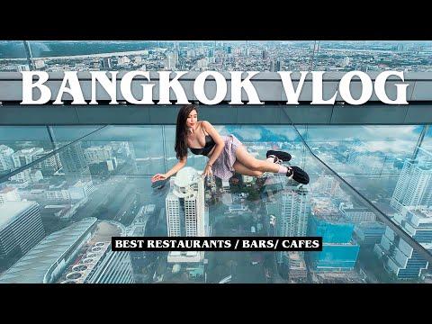 BANGKOK VLOG! (King Power Mahanakhon + CAFES + AWESOME Massages)
