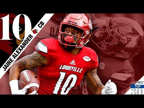 Jaire Alexander - Louisville CB   ACC Top 30