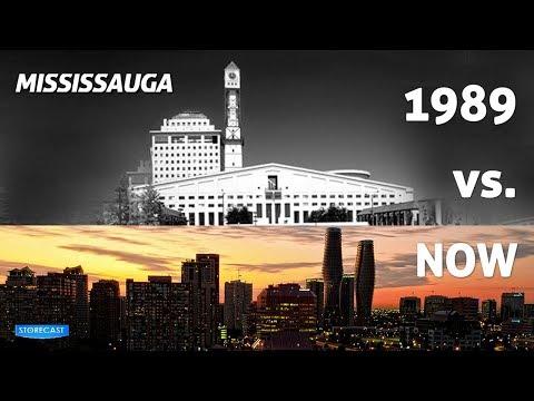 Mississauga - 1989 vs NOW