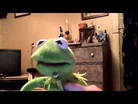 Kermit the frog singing rain is a good thing by Luke Bryan