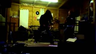 Mia Coldheart guitar riff Killer On His Knees ( Crucified Barbara )