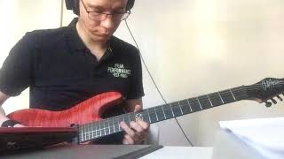 Flames - David Guetta & Sia (Electric Guitar Cover by Tomas) Video