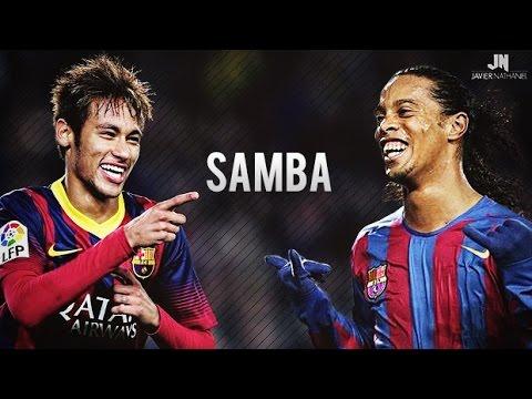 Neymar Jr & Ronaldinho ● SAMBA SKILLS ● Barcelona HD