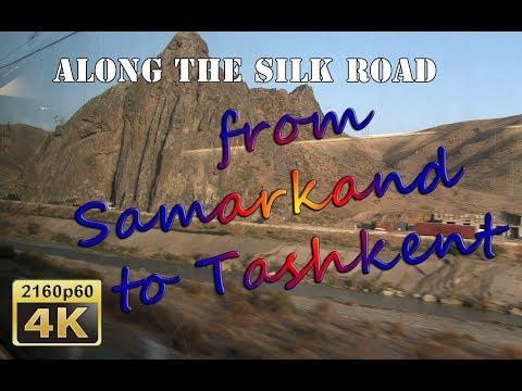 By High-Speed Train from Samarkand to Tashkent - Uzbekistan 4K Travel Channel