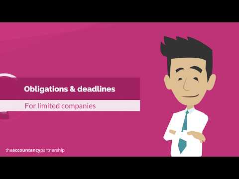 Obligations & deadlines: Limited Companies - The Accountancy Partnership