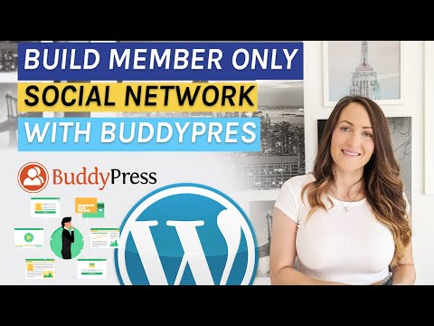 Create Members Only Social Network With 100% FREE Plugins In 35 Minutes - Buddypress Tutorial