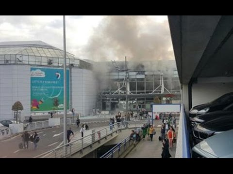 Two Explosions At Brussels Airport In Belgium - Full Story