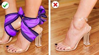 COOL SCARF HACKS || 13 Ways to Tie a Scarf & Other DIY Fashion Hacks by Crafty Panda