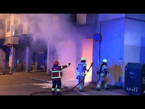 Politiet etterlyser pyroman i Oslo etter denne brannen