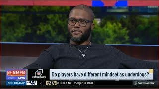 Good Morning Football : Do players have different mindset as underdogs?