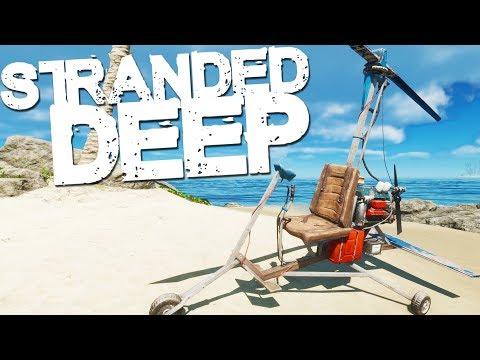 Stranded Deep | GYROCOPTER!!