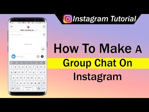 How To Make A Group Chat On Instagram