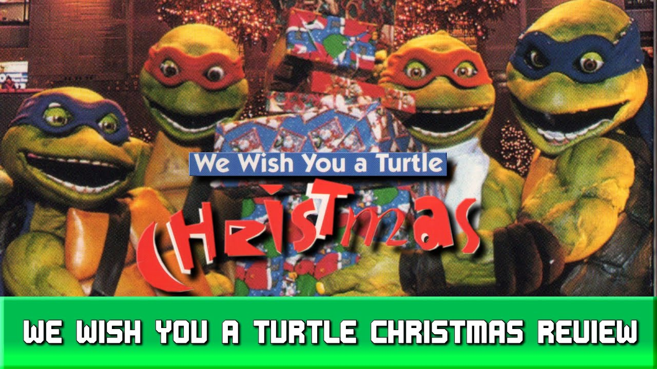 We wish you a Turtle Christmas Review - YouTube