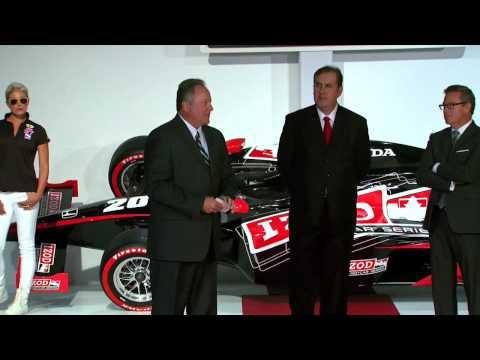 IZOD IndyCar Series Media Event