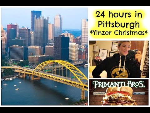 24 Hours in Pittsburgh | Christmas Vacation | Travel Vlog