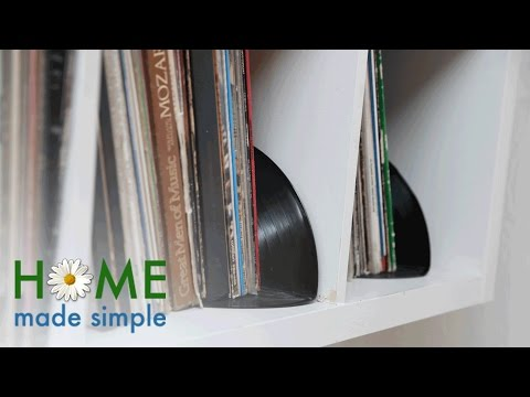Turn Old Records Into Vintage Bookends   Home Made Simple   Oprah Winfrey Network