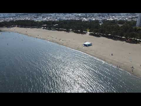 DJI MINI2 Flight Test @ YOKOHAMA Marine park