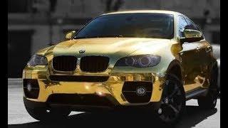 Могилевский дрифтер на «золотом» BMW