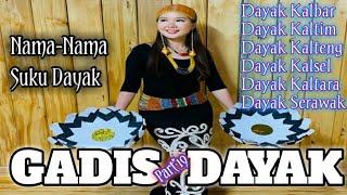 Anak Gadis Cantik Dari Suku Dayak   Gadis Dayak Part\