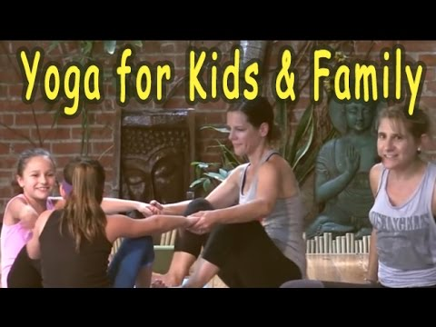 Kids Yoga / Family Yoga class with Annie Marks