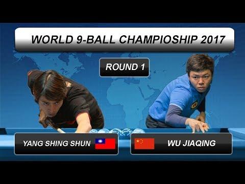 Yang Shing Shun - Wu Jiaqing   World 9-BALL Championship 2017   Round 1